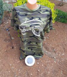 Camouflage rabyrske tričko