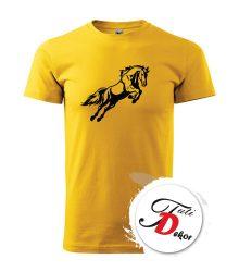 Potlač trička Kôň