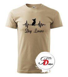 Dog lovers tričko s potlačou psa