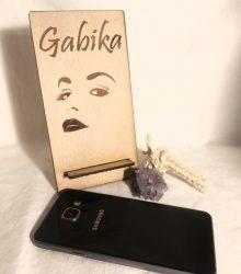 Drčiak na mobil s gravírovaním