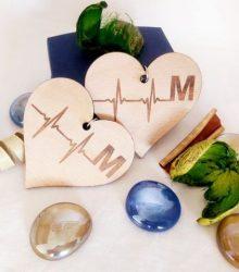 Náušnice EKG M