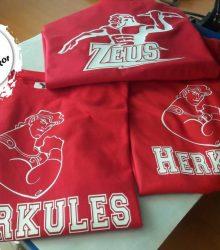 Tričko s potlačou Herkules