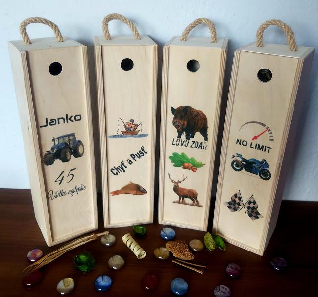 Darčekové krabice na víno