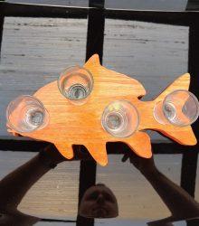 Držiak poldecákov Ryba