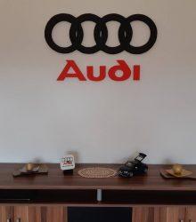 3D logo Audi z polystyrénu