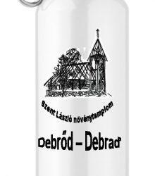 Turistická hliníková flaša s potlačou - Debraď
