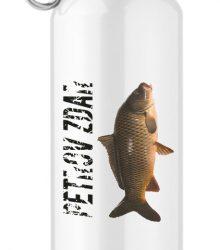 Turistická hliníková flaša s potlačou - Petrov Zdar