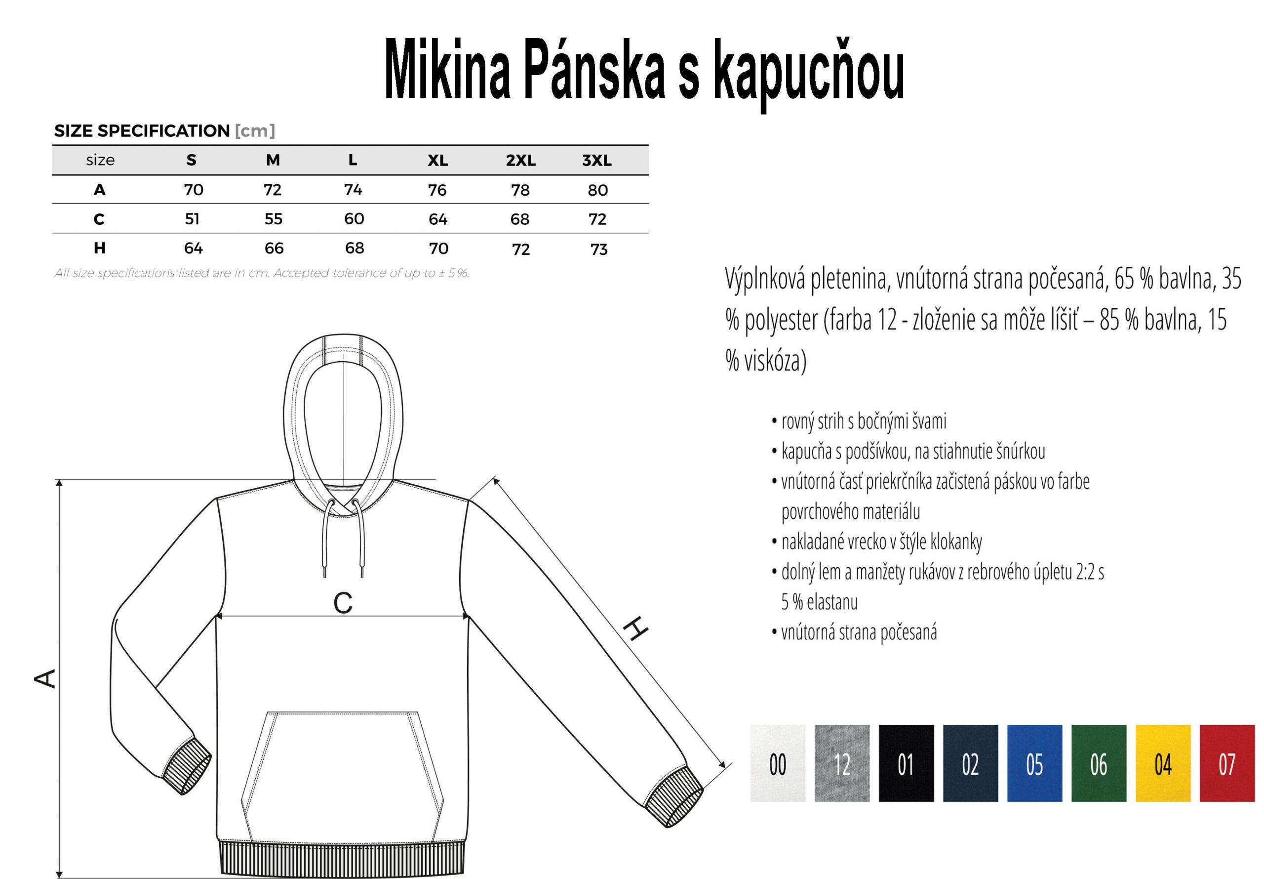 Mikina-Pánska-s-kapucnňou-velkostná-tabulka