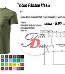 Tričko Pánske