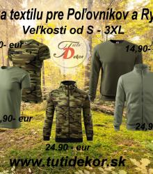 Ponuka textilu Tutidekor