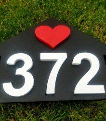 Súpisne číslo v domčeku