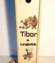Darčeková krabica na alkohol pre kuchára