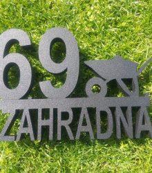 Súpisné číslo záhradná