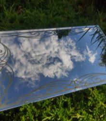 Zrkadlo s Laserovým Gravíroavním