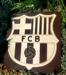 Dekorácia na stenu FCB
